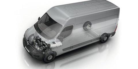 Renault adds updated Kangoo ZE, new Master ZE to electric commercial van range