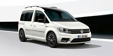 2017 Volkswagen Caddy Edition 35 unveiled
