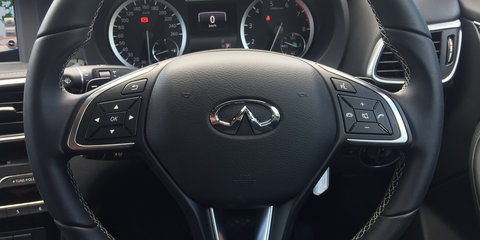 Road trip: Bush to beach in the Infiniti QX30