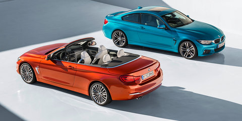 2017 BMW 4 Series, M4 update revealed: LEDs everywhere, and new infotainment across the range