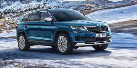 Skoda Kodiaq Scout revealed, Australian launch under consideration