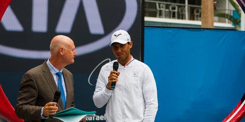 2018 Kia Stinger GT: Korean show-stopper lobs Down Under to ace Australian Open crowds