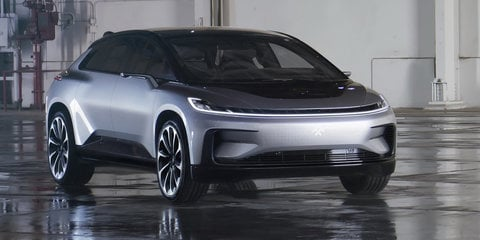 Faraday Future showcases FF91 aero, investor summoned back to China