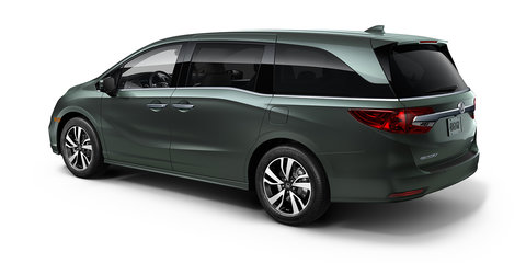 2018 Honda Odyssey revealed in Detroit: US-market MPV debuts new 10-speed auto, but not for Australia