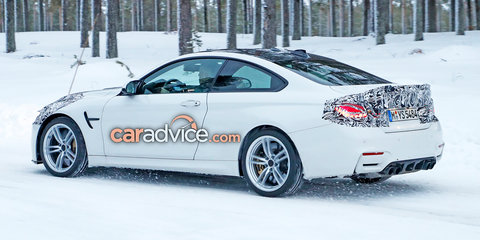 2018 BMW M4 facelift spied in Sweden