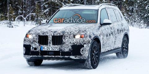 2018 BMW X7 spied again