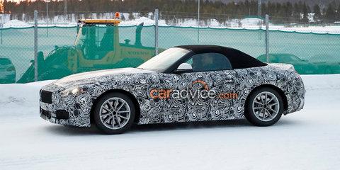 2018 BMW Z5 spied