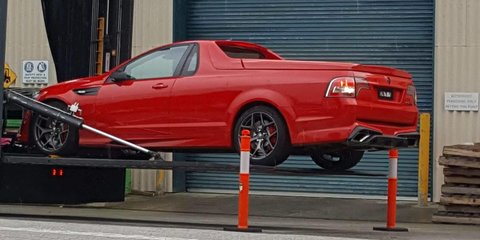 HSV GTS-R W1 final editions spied – last ute and sedan models spotted in Victoria