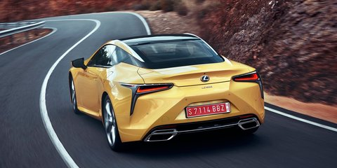 Lexus LC F heading to Tokyo with twin-turbo 4.0-litre V8 - report