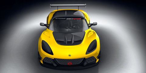 2017 Lotus Exige Race 380: lighter, faster, track-only special announced