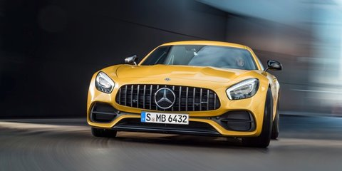 2017 Mercedes-AMG GT range updated, GT C Coupe added