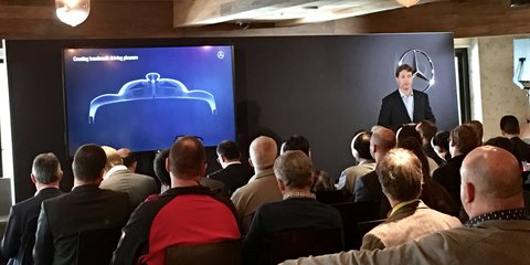 Mercedes-AMG R50 hypercar teased, will debut this year