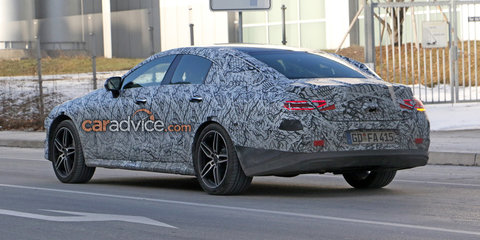 2018 Mercedes-Benz CLS spied testing