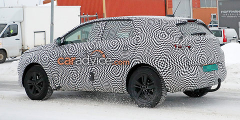 2017 Opel Grandland X spied in the snow