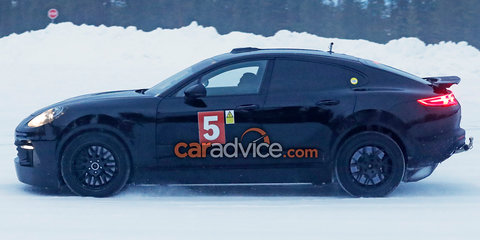 2018 Porsche Cayenne Coupe spied again, could get all-electric power