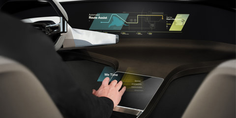 BMW explores control and display tech with i Inside Future