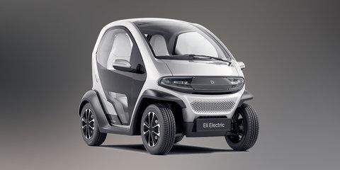 Eli Zero:: Renault Twizy-style EV revealed before CES 2017