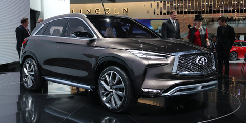 2018 Infiniti QX50 high on local arm's wishlist