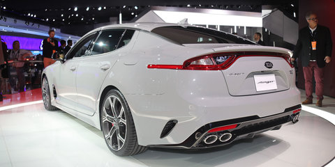 Kia will lure Commodore SS owners with new Stinger twin-turbo V6