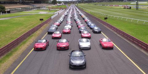 Mazda's got a posse: Records broken at Mazda MX-5 Fan Fest
