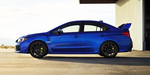 2017 Subaru WRX update revealed in the USA