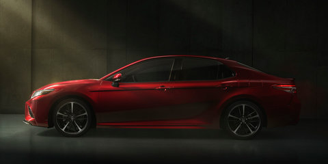 2018 Toyota Camry revealed:: Japan-built sedan in Australia from late 2017