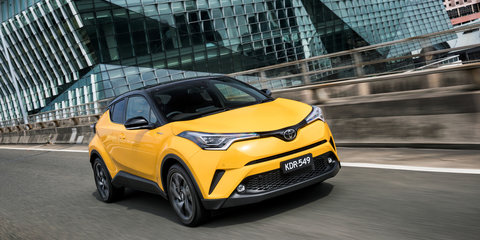 2017 Toyota C-HR pricing and specs