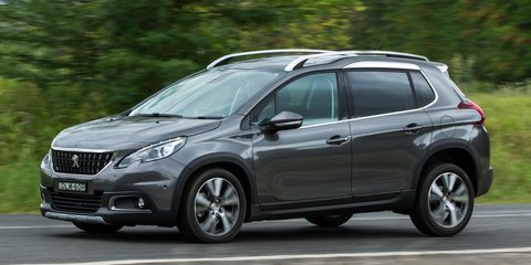 2017 Peugeot 2008 pricing and specs