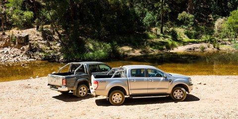 2017 Ford Ranger XLT v Volkswagen Amarok V6 Highline comparison
