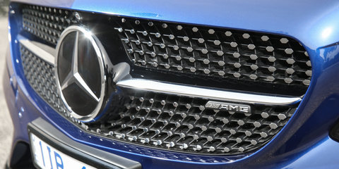 2017 Mercedes-AMG C43 Coupe getaway