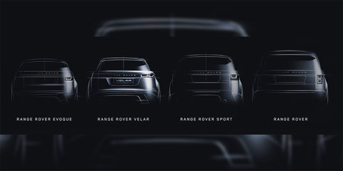 Range Rover Velar teased ahead of March 1 debut, name confirmed
