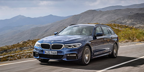 2017 BMW 5 Series Touring revealed, confirmed for Australia - UPDATE