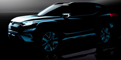SsangYong XAVL seven-seat concept teased
