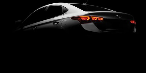 North America's 2018 Hyundai Accent teased