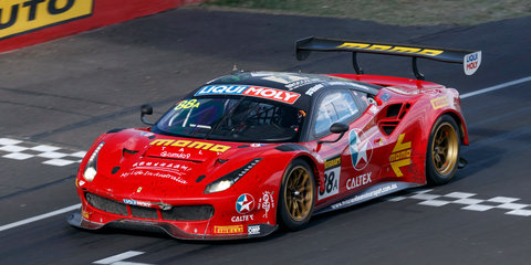Ferrari wins bruising Bathurst battle
