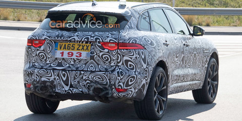 Jaguar F-Pace R/SVR spied in Spain