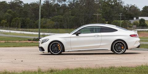 BMW M4 Competition v Mercedes-AMG C63 S Coupe track comparison