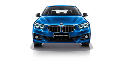 BMW 1 Series sedan detailed for China, not for Australia
