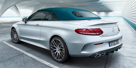 Mercedes-AMG GT C, C63, C43 limited editions revealed for 50th anniversary