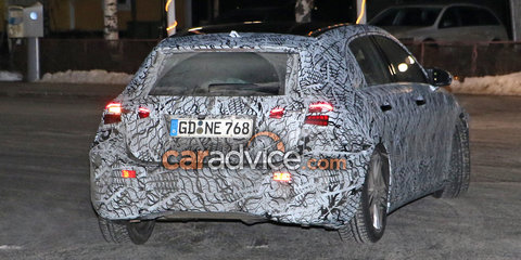 2018 Mercedes-Benz A-Class drops heavy disguise, interior spied