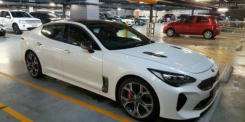 2017 Kia Stinger GT spied testing in Sydney