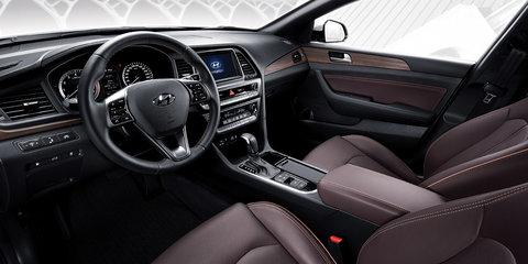 2017 Hyundai Sonata facelift revealed in Korea