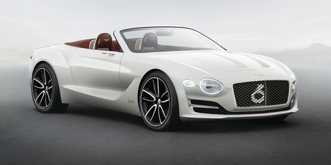 Bentley EXP 12 Speed 6e concept revealed