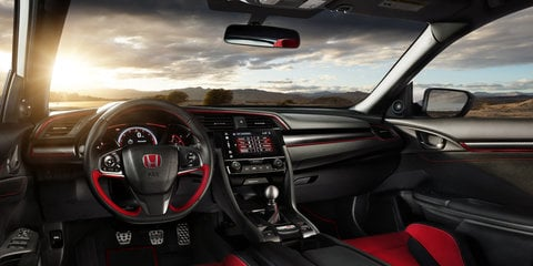 2017 Honda Civic Type R revealed in Geneva, here later this year