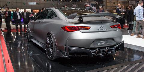 Infiniti Q60 Project Black S concept revealed