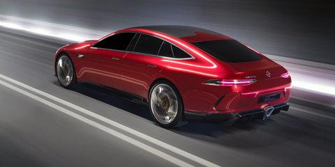 Mercedes-AMG GT four-door concept revealed