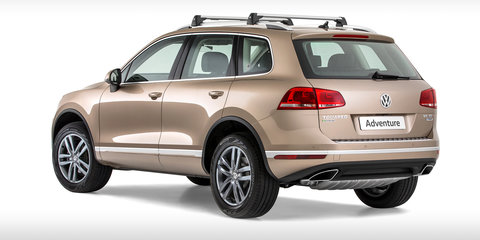Volkswagen Touareg Adventure limited edition on sale from $79,990
