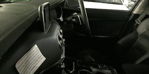 2018 Kia Stinger spied in Sydney