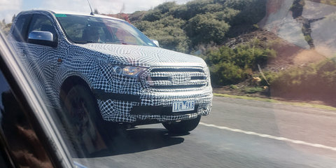 2019 Ford Ranger V6 spied in Australia