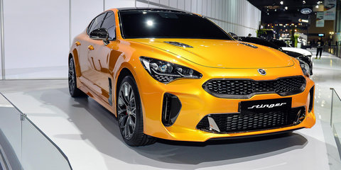 Kia E badge explained, debuts on Korean Stinger
